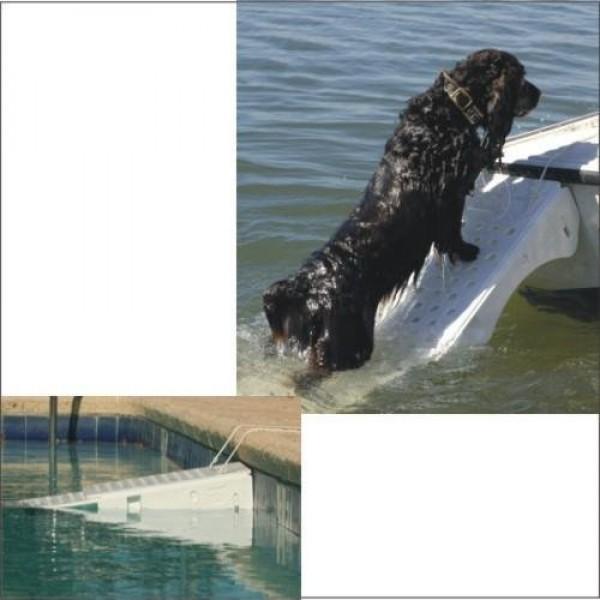 Comprar rampa salvavidas piscinas desplegable para perros for Salvavidas para piscinas