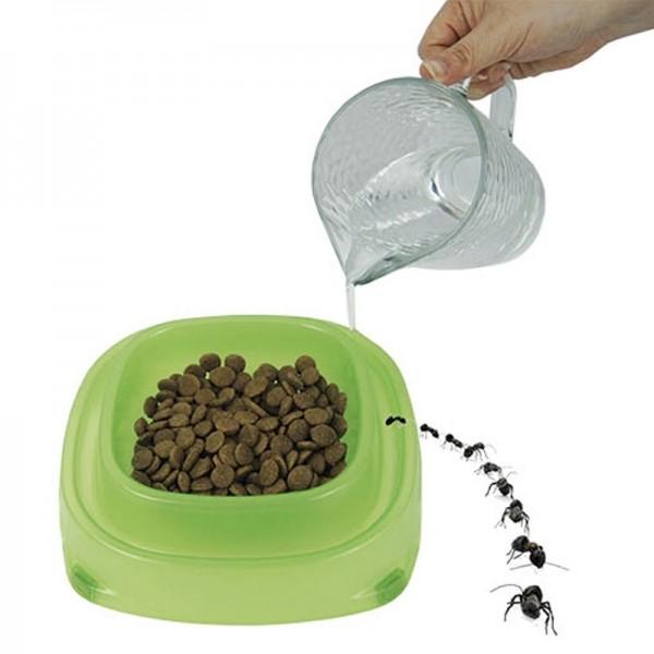 Comedero con foso antihormigas para perros recipiente for Comederos para perros