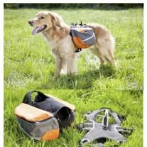 "Alforjas mochila para perros ""Tracking Lead & Travel"""