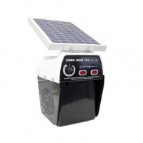 Cerca eléctrico Zerko-Solar Pastor eléctrico placa solar 15w