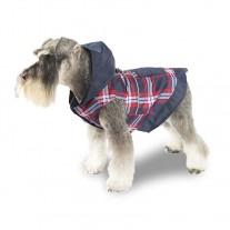 Chubasquero con capucha para perros