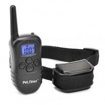 Collar adiestramiento para perros impermeable,recargable,100 niveles X821-A