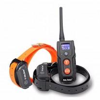 Collar adiestramiento resistente al agua y bateria Petrainer  PET916 para 2 Perros