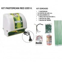 Kit Pastorcan Red 220 V Pastor eléctrico para perros