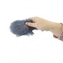 Llamador para perros Ratón de pelo con sonido ring y exposiciones caninas