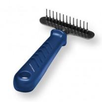 Rastrillo pequeño para peluqueria canina