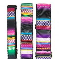 Collar nylon Mosaico para galgos 35MM - 28 A 44CM.