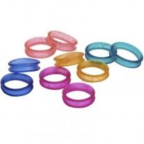 Protectores de Goma de Colores Surtidos para Tijeras peluquería canina