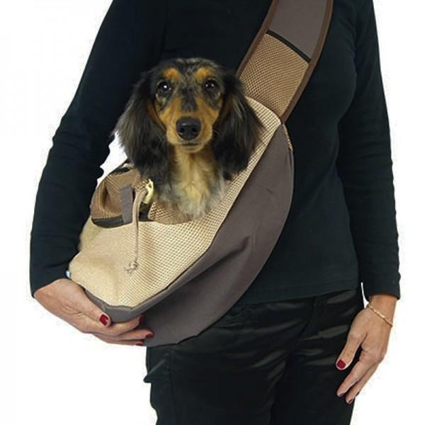 Bolso Bandolera Moka para trasnportar perros pequeños y gatos comprar al mejor precio