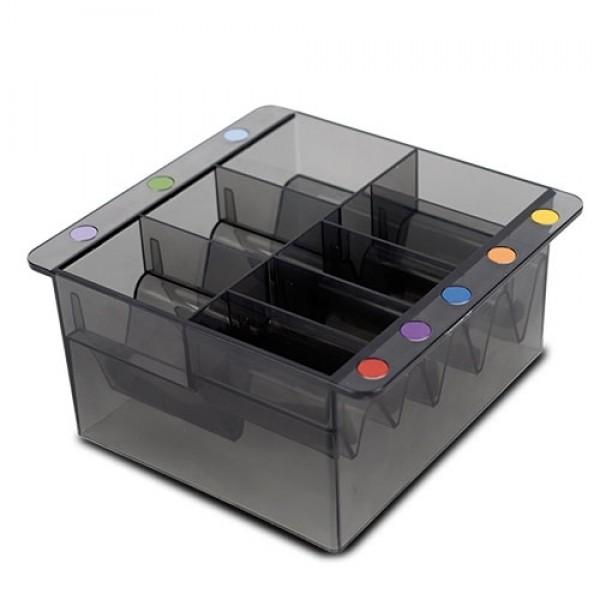 Caja portacabezales universal para cuchillas cualquier marca Ibáñez, Wahl, Moser, Andis, Oster | caja para guardar cabezales de corta pelos y máquinas de peluquería canina