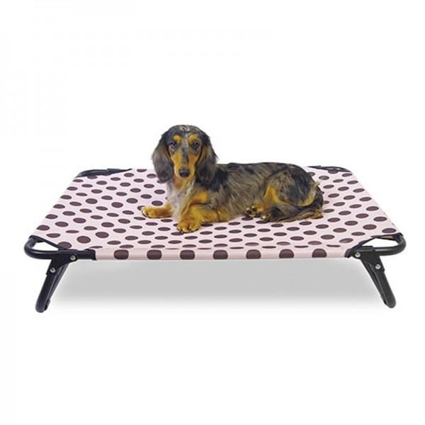 Cama plegable elevada para perros interior exterior al mejor precio
