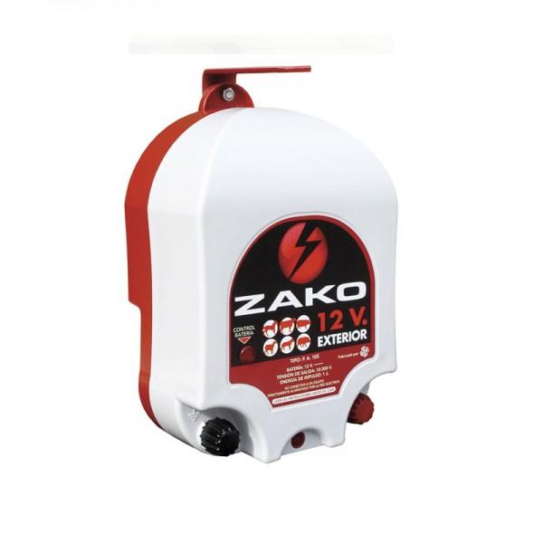 Cerca eléctrica Zako-Batería-Exterior Pastor eléctrico con batería para animales de granja y ganaderia