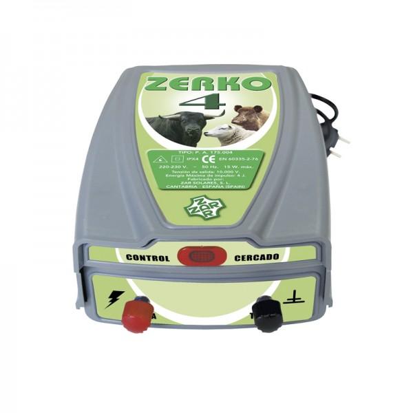 Cerca eléctrica Zerko-Red. 4 Julios de potencia Pastor eléctrico