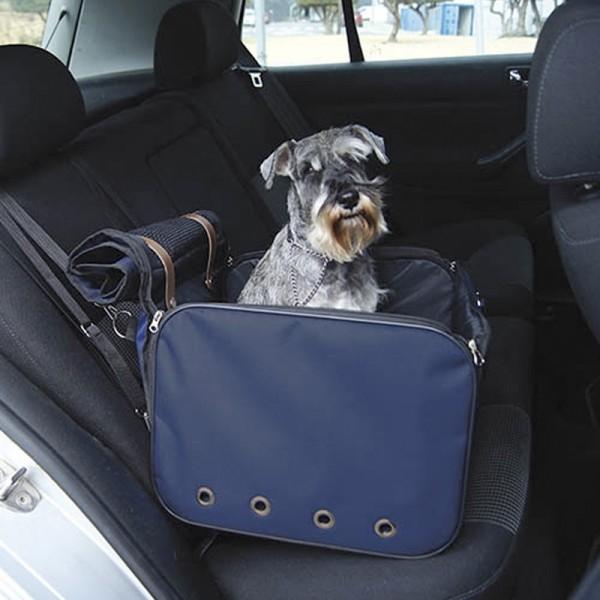 Cesta para perros viajar en coche comprar al mejor precio