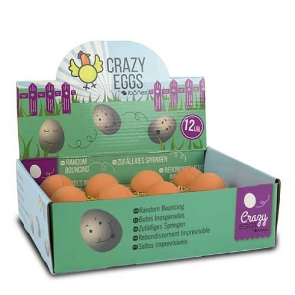 huevos de juguete para peros y gatos