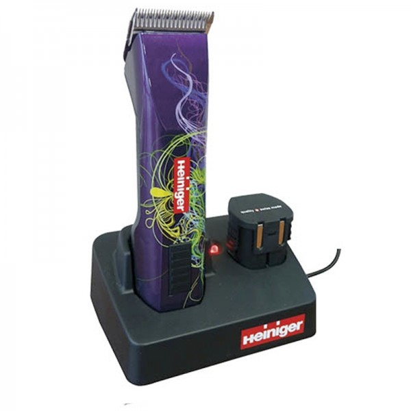 Heiniger Saphir Style Batería Máquina pelar perros peluquería profesional | Corta pelo inalámbrica canina