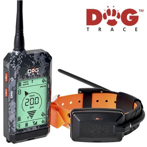 Localizador GPS Dogtrace X20 camo + Plus 2019 más barato en España | localizador profesional perros de caza con 20km alcance