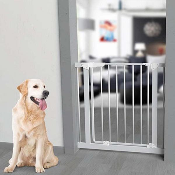 Puerta de seguridad para casa barrera para perros comprar for Puerta para perros