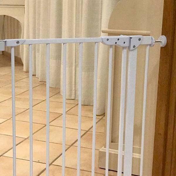 Puerta de seguridad para casa barrera para perros comprar for Puertas para oficinas precios
